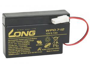 LONG baterie 12V 0,7Ah AMP (WP0.7-12)