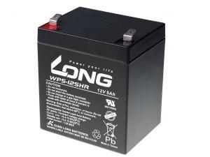 Long 12V 5Ah olověný akumulátor HighRate F2 (WP5-12SHR F2)