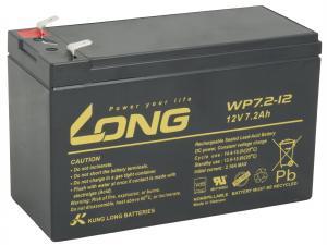 LONG baterie 12V 7,2Ah F2 (WP7.2-12)