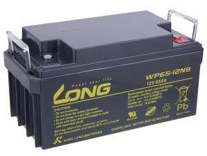 Long 12V 65Ah olověný akumulátor F8 (WPL65-12AN)