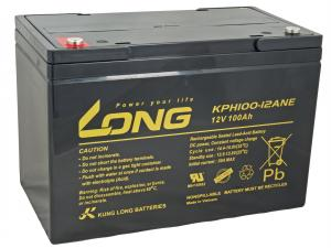 LONG baterie 12V 100Ah M6 DeepCycle (KPH100-12ANE)