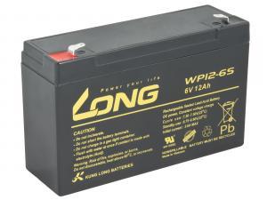 LONG baterie 6V 12Ah F1 (WP12-6S)