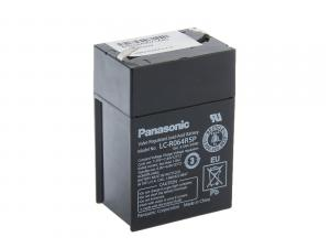 Panasonic 6V 4,5Ah olověný akumulátor F1  LC-R064R5P