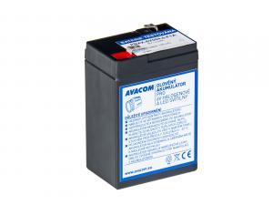 Akumulátor Avacom 6V 4,5Ah pro svítilny F1