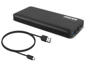 AVACOM externí baterie PRISMA GT-20, Li-Ion 20000mAh, USB-C, QC vstup a výstup, černá