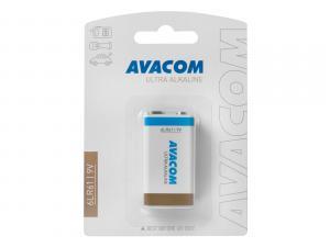 Nenabíjecí baterie 9V AVACOM Ultra Alkaline 1ks Blistr