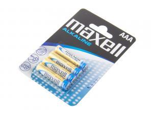 Nenabíjecí baterie AAA Maxell Alkaline 4ks Blistr
