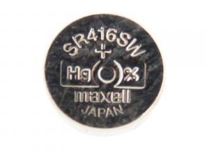 Nenabíjecí knoflíková baterie 337 Maxell Silver Oxide 1ks Blistr
