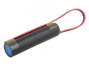 Baterie pro nouzová světla Ni-Cd 2,4V 2500mAh vysokoteplotní