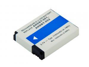 GoPro AHDBT-001, AHDBT-002 Li-Ion 3.7V 1100mAh 4.1Wh
