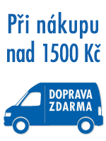 doprava zdarma od 1500 K�