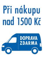 doprava zdarma od 1500 K�