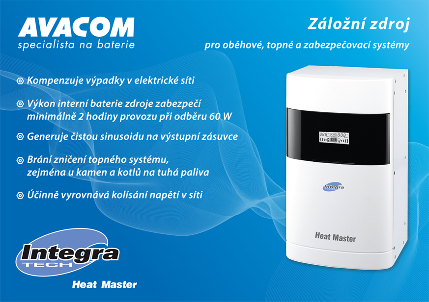 HEAT MASTER F200 - INTEGRA TECH - AVACOM